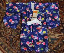 ca. 1960's Child's Kimono w/ Original Tags