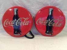 Vintage Coca Cola Coke Button Telephones