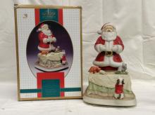 Limited Edition 1994 Melody in Motion Santa Claus