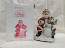 Limited Edition 2002 Melody in Motion Santa