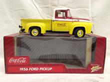 Coca Cola Coke Die Cast 1956 Ford Pick-up Truck