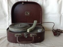 ca. 1930's RCA Victor Suitcase 45 Record Player