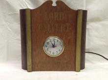 Vintage Lord Calvert Whiskey Clock