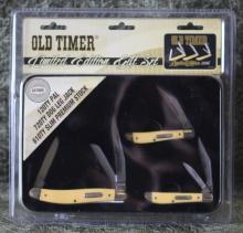 Old Timer Limited Edition Pocket Knife Gift Set