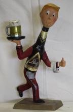 1952 Blatz Beer Cast Aluminum POS Statue