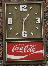 Vintage Coca Cola Coke Wall Clock
