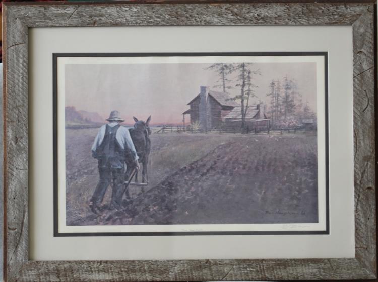 Signed & Numbered Ben Hampton Good Earth Print