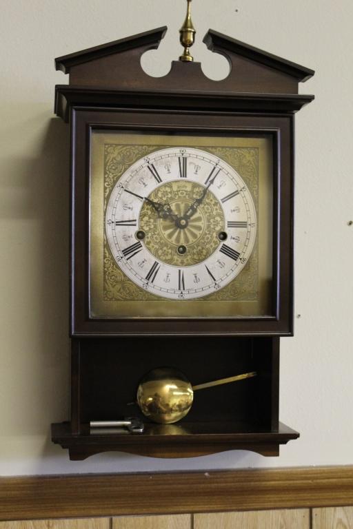 Vintage Welby Pendulum Wall Clock