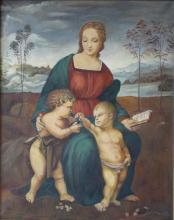 Boleskawski Madonna & Child w St. John the Baptist