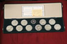 1988 Royal Canadian Mint, Ultra Cameo 10 coins