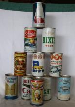 11 pcs. Vintage Beer Cans - Falstaff, Schmidt +++