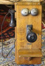 Antique Sears Roebuck & Co. Wall Telephone