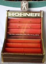 Vintage Hohner Harmonica POS Display Case