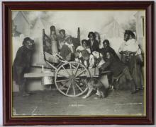 1899 Original Joseph Knaffl Black Americana Photograph