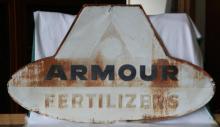 Vintage Armour Fertilizers Metal Sing