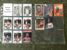 Lot of 13 Michael Jordan Trading Cards