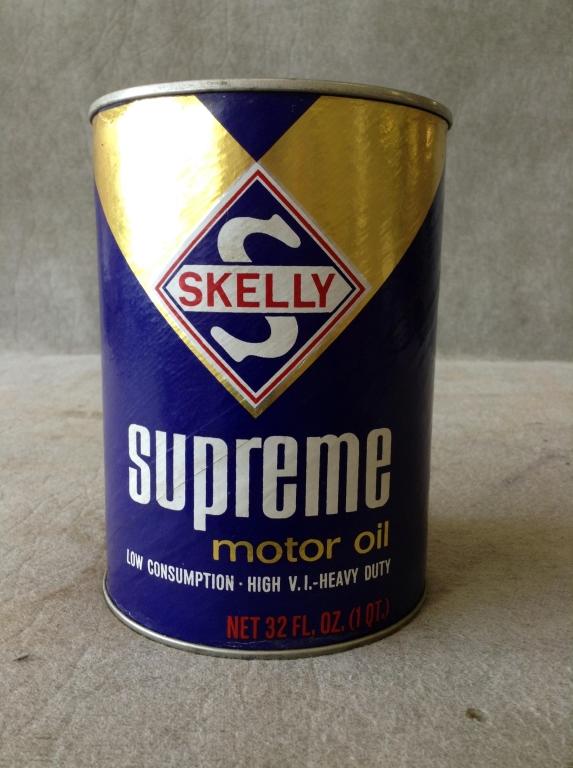 Lot Of 3 Misc Motor Oil Cans Texaco Havoline