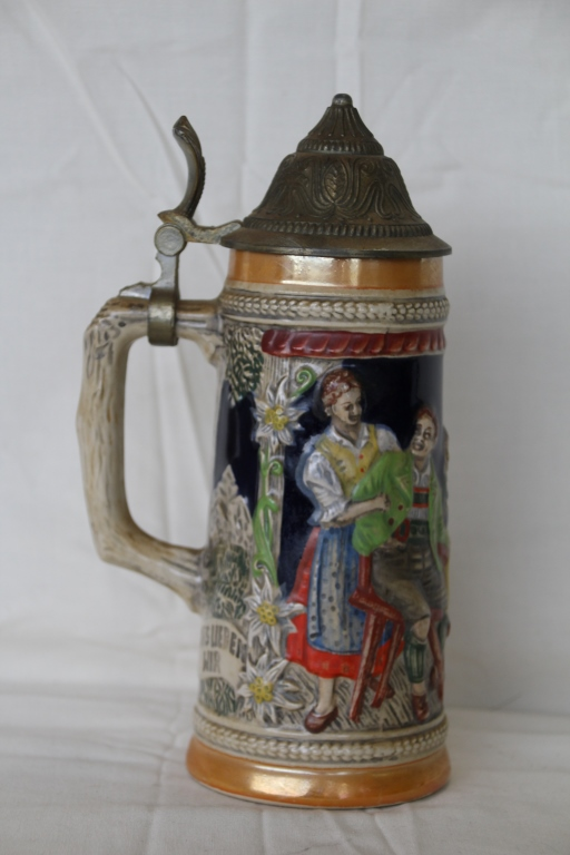 Vintage Original Gerz Gerzit West Germany Beer Stein Mug ... |Vintage West Germany Beer Steins