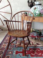 Antique Windsor-back Chair