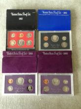 1982 - 1985 U.S. Mint Proof Sets