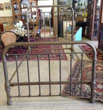 ca. 1930's Three-Quarter Bargalo Mfg Co Brass Bed