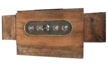 Rare French  Parisian Door Lock, Signed