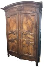Early 19th Century French Cherrywood Armoire