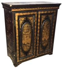 Very Nice Chinese Black Lacquered Chest,