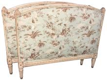Antique French Louis Xv Painted Daybed,