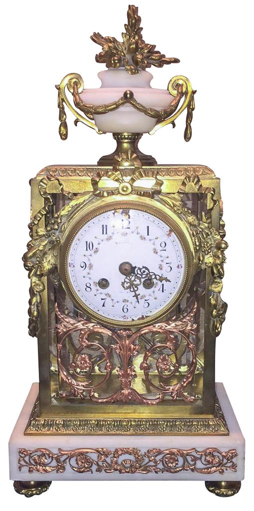 Tiffany And Company French Clock