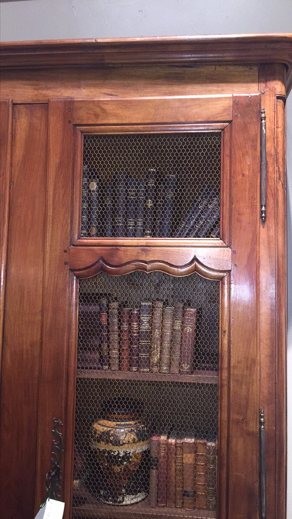 18th c french walnut bibliotheque - Bibliotheque 4 cases ...