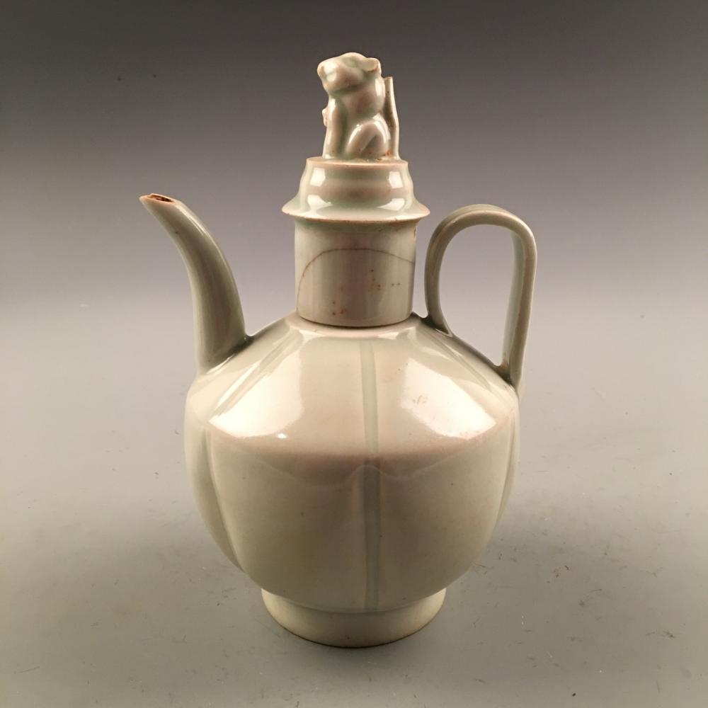 Chinese Celadon Porcelain Pitcher