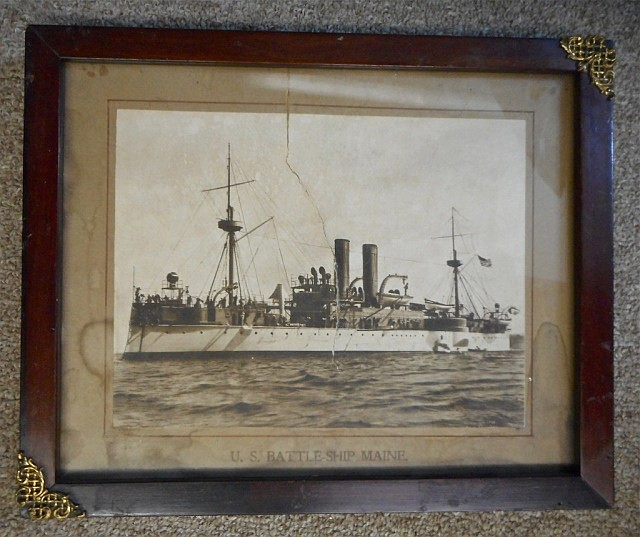 Collection of Antique Maritime Photography and Art