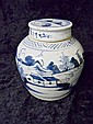 19th C. Canton Export Covered Ginger Jar