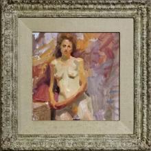OIL ON CANVAS, FEMALE NUDE, (JOHN ASARO B-1937)