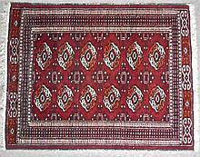 Semi Antique Oriental Scatter Rug