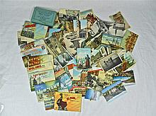 Early 20th C. Postcards, American, European (141)