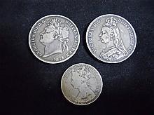 19th Century British Silver Coins