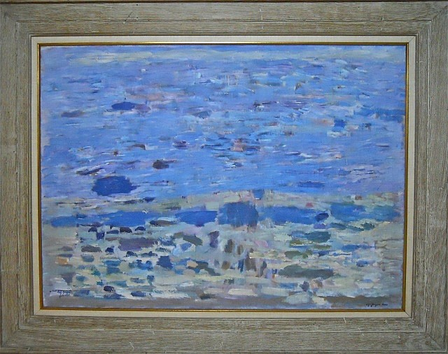 Painting, Alf-Jorgen Aas (Norwegian, 1915-1981)