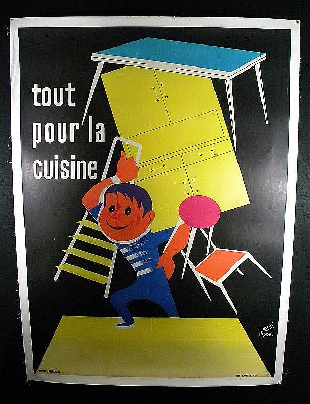 poster french tout pour la cuisine poster artist. Black Bedroom Furniture Sets. Home Design Ideas