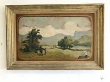 LOUIS EILSHEMIUS O/B TITLED GREEN PASTURES, SIGNED