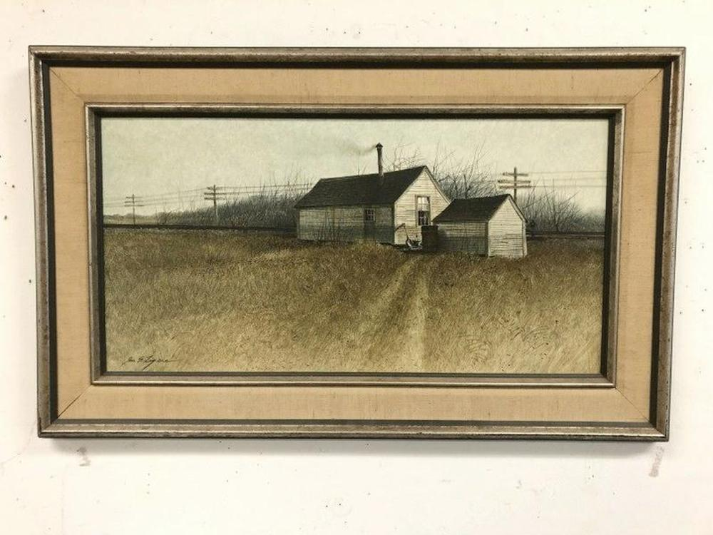JON S LEGERE(1944-1996) O/B TITLED DANVILLE JUNCTION,