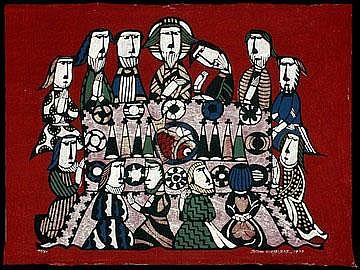 Watanabe, Sadao, 1913- 1996 Last Supper 49/80,