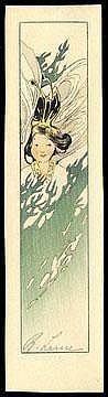 Lum, Bertha, 1869-1954 Pine Tree Fairy, 1916 8 7/8