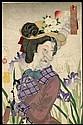 Yoshitoshi, Taiso, 1839- 1892 Strolling: The, Taiso Yoshitoshi, Click for value