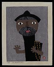 Umetaro Azechi - Woodblock