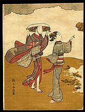 Suzuki Harunobu - Woodblock