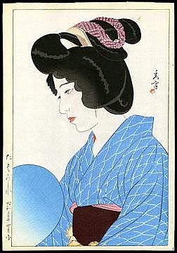 Shuho, Yamakawa, 1898-1944 Title: Dusk Series: