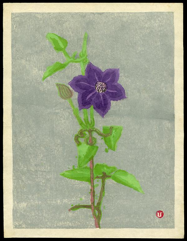 Original Japanese woodblock print by Umetaro Azechi