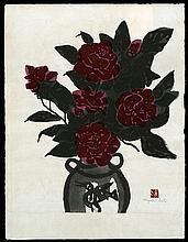 Original Japanese woodblock print by Kiyoshi Saito